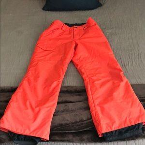 Burton red/orange Snowboard Pants